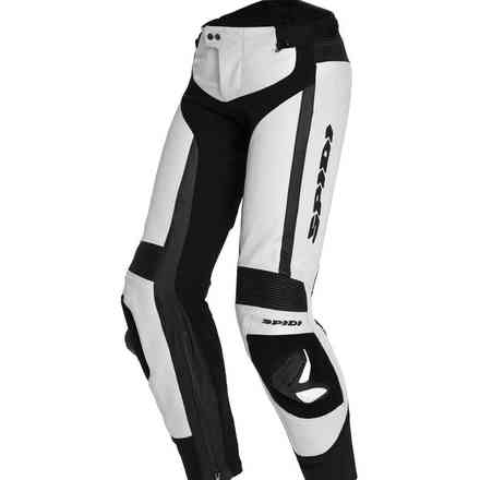 Rr Pro Leather Pant white Spidi
