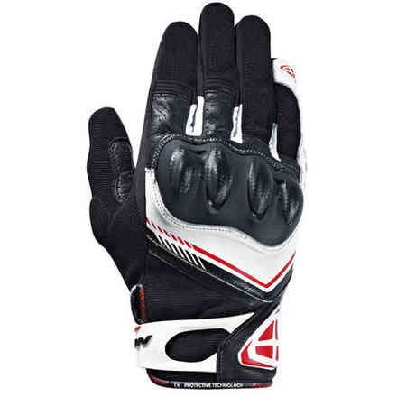 Rs Drift gloves black white red Ixon