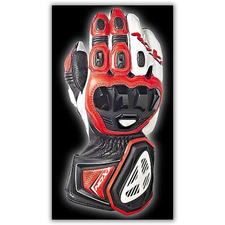 Rs Pro HP Black/Red/White Gloves Ixon