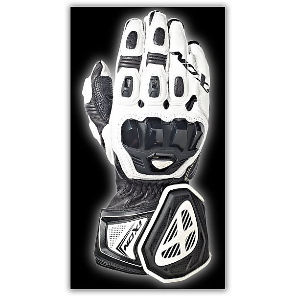 Rs Pro HP Black/White Gloves Ixon