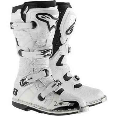 RS TECH 8 BOOT OFF-ROAD MOTOCROSS 2015 weiß Alpinestars