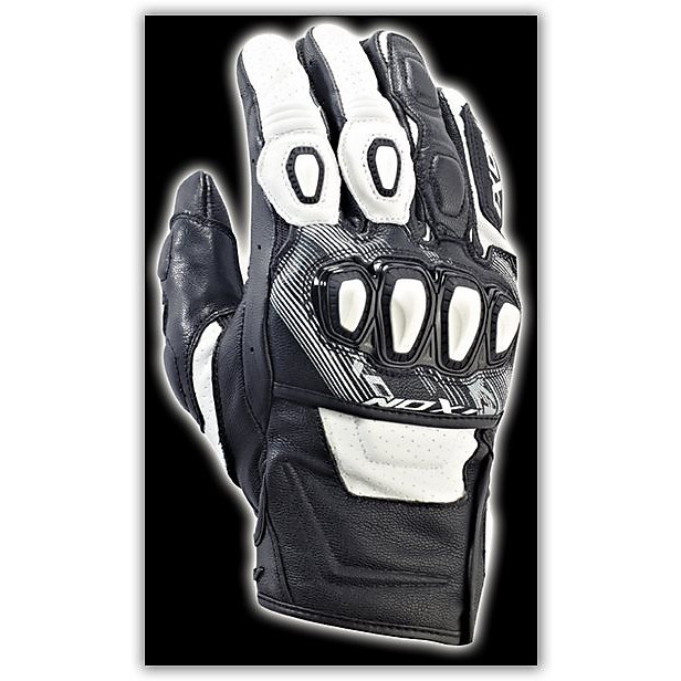 Rs Trigger HP Black/White Gloves Ixon