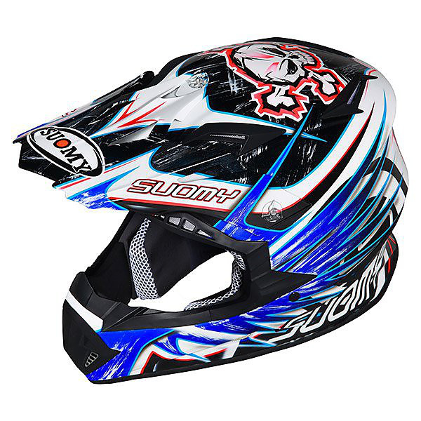 Rumble Eclipse Blue Helmet Suomy
