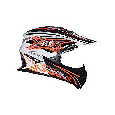 Rumble Vision Orange Helmet Suomy