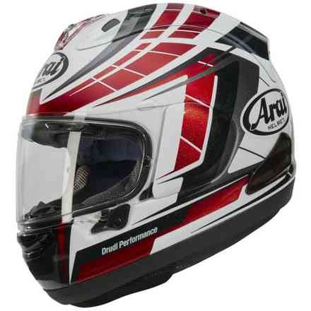 Rx-7 V Planet Red Helmet Arai