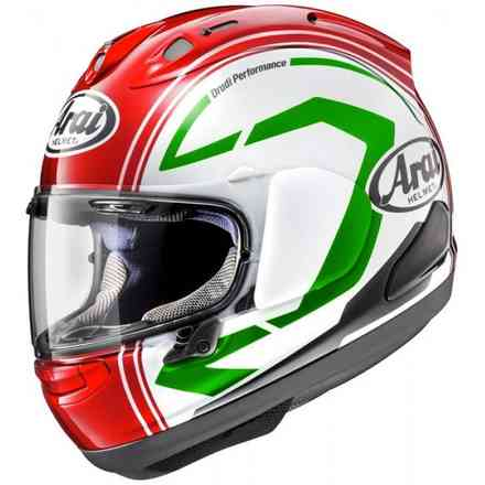 Rx-7 V Statement Red Helmet Arai