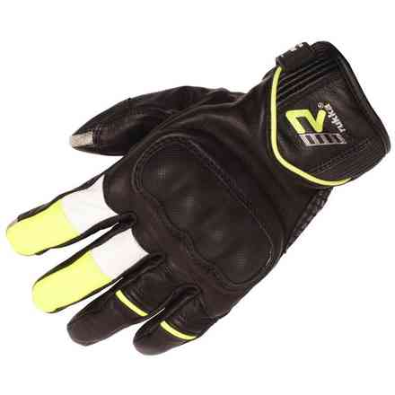 Rytmi gloves black yellow RUKKA