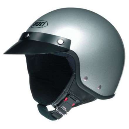 S-20 Light Silver Helmet Shoei