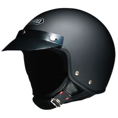 S-20 Matt Black Helmet Shoei