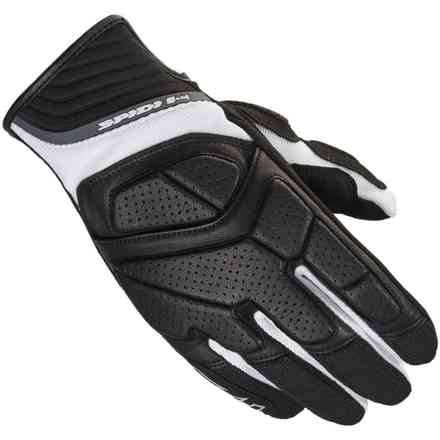 S-4 black white Gloves Spidi