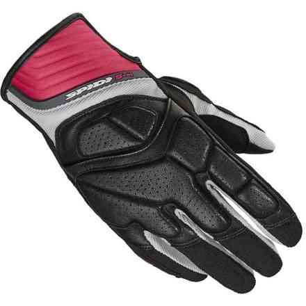 S-4 Lady black fuchsia Gloves Spidi