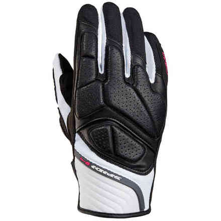 S-4 Lady black white Gloves Spidi