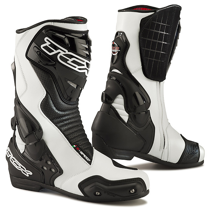 S-Speed Boots white-black Tcx