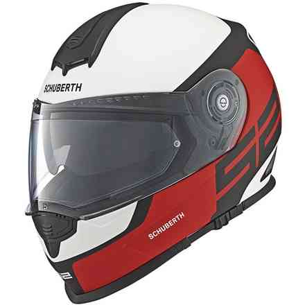 S2 Sport Elite red Helmet Schuberth