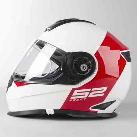 S2 Sport Redux Roter Helm Schuberth
