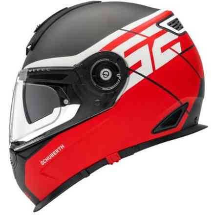 S2 Sport Rush Red Helmet Schuberth