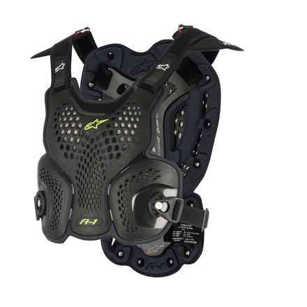Safety A-1 Roost Guard Schwarz Anthrazit Alpinestars