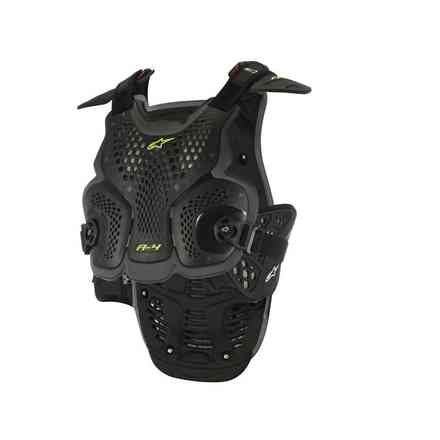 Safety A-4 Chest Protector Schwarz Antrazyt Alpinestars