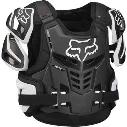 Safety Fox Raptor Vest Nero- Bianco Fox