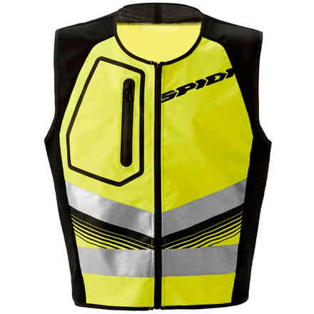 Safety Hv Vest jaune fluo Spidi