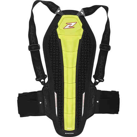 Safety Hybrid Back Pro X7 Yellow Fluo Zandonà