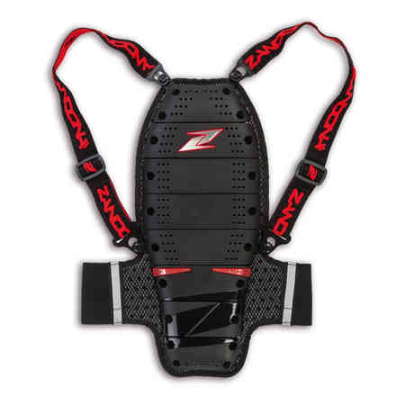 Safety Netcube Jacket Kid X8 Black-Red Zandonà