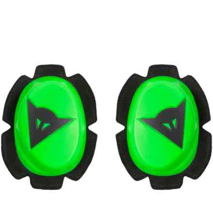 Safety Pista Knee Slider fluo green black Dainese