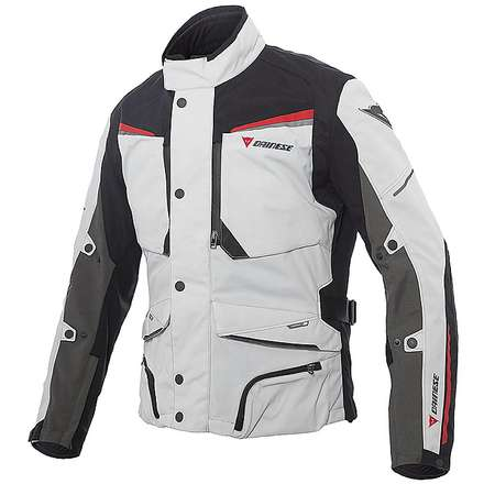 Sandstorm Gore-tex Jacket Gray-Black-Red Dainese
