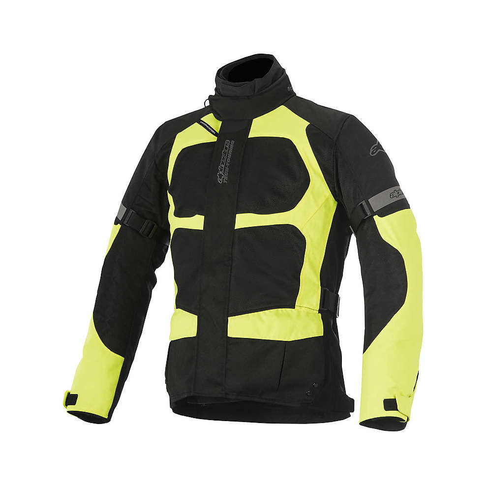 Santa Fe Air Drystar black-yellow fluo Jacket  Alpinestars