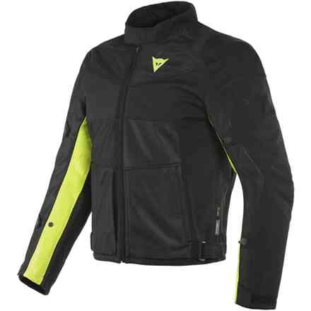 Sauris 2 d-dry jacket Black/Yellow fluo Dainese