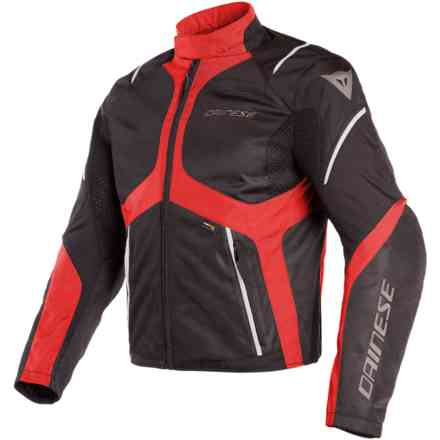 Sauris D-Dry jacket black tour red light grey Dainese