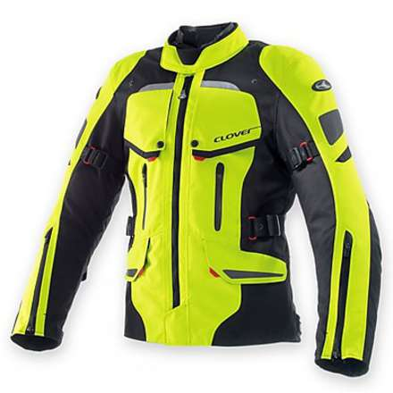 Savana Wp Jacket Black-Yellow-Fluo Clover