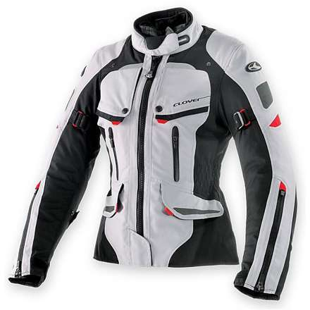 Savana Wp Lady Jacket Black-Grey Clover