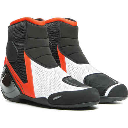 Scarpe Dinamica Air nero rosso fluo bianco Dainese