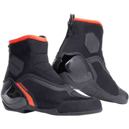 Scarpe Dinamica D-Wp nero rosso fluo Dainese