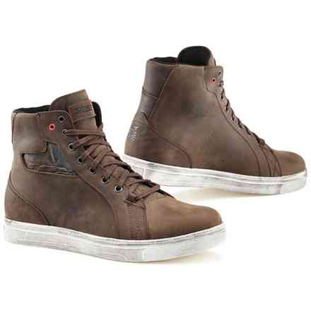Scarpe Tcx Street Ace Waterproof Coffee Marrone Tcx
