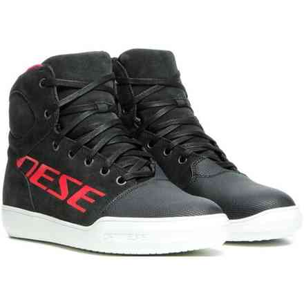 Scarpe York D-Wp Dark carbon rosso Dainese