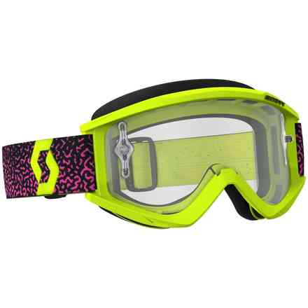 Scott Goggle Recoil XI Gelb Brille - Pink Scott