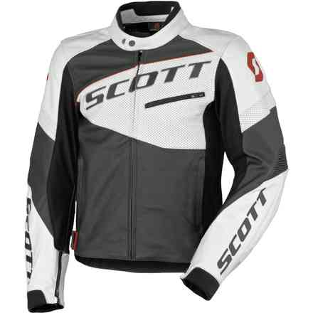 Scott Track Leather Blouson Jacket Scott