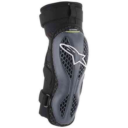 Sequence Knee Protector Anthracite Yellow Alpinestars