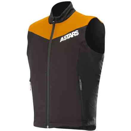 Session Race Vest Orange Fluo Black Alpinestars