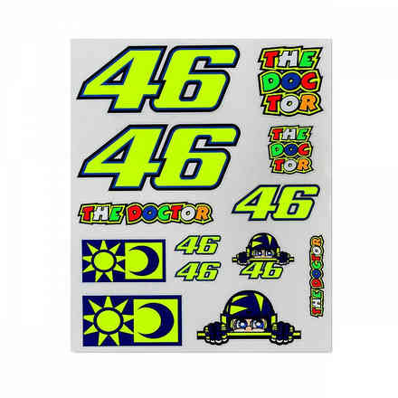 Set Stickers Multicolor Grandi VR46