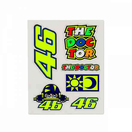 Set Stickers Multicolor Small VR46