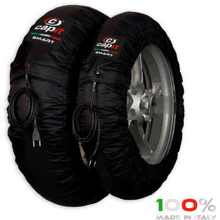 Set Tyrewarmers Smart M/Xl Blk230v CAPIT