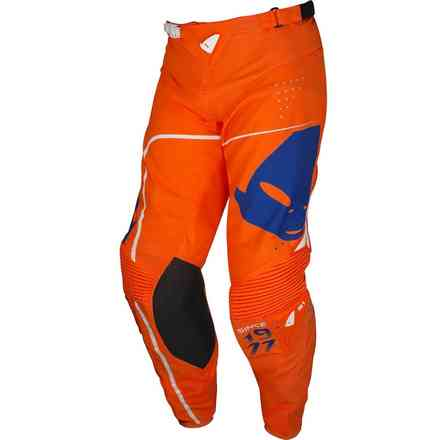 Sharp Orange Slim Cross Pants Ufo