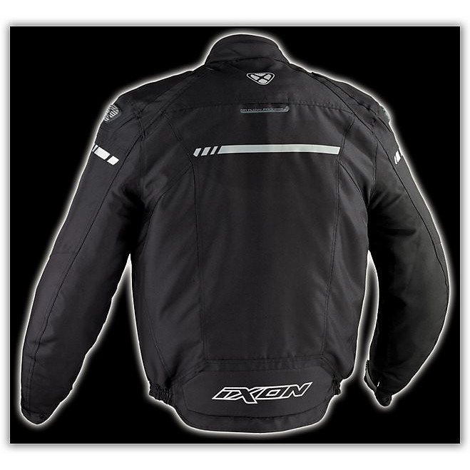 Shiroki HP   Black Waterproof jacket Ixon