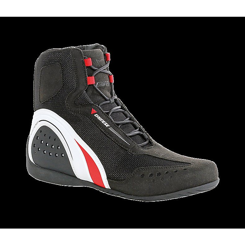 Shoes Motorshoe JB perforated black-white-red Dainese
