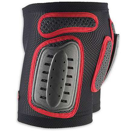 Short with side shields rigid Boy Black-Red Ufo