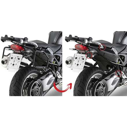 side suitcase rack  BMW F800 GT  13 Givi