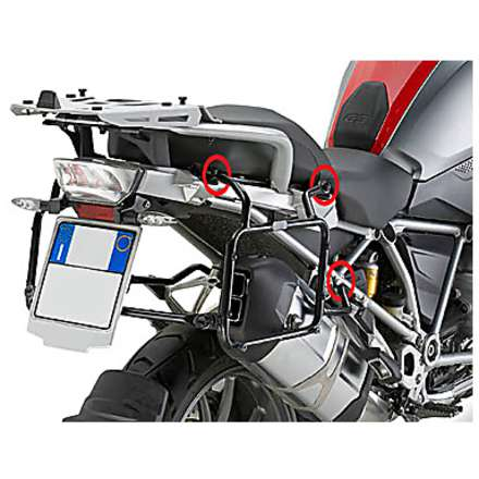 side suitcase rack  BMW R1200 GS  13 Givi